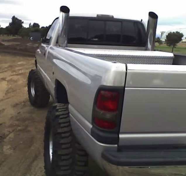 Customer stack pics black cloud diesels customers trucks with chris douglas says my truck is a 95 dodge 2500 single cab long bed 7 inch lift on 38s i bought a stack kit from you guys a few months ago for publicscrutiny Choice Image